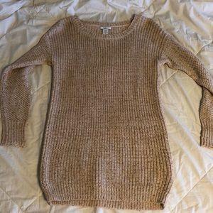 Light pink sweater/dress